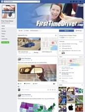 First Time Driver on Facebook